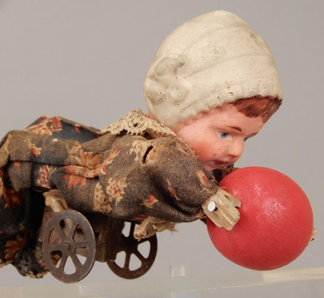 Antique crawling baby - 3
