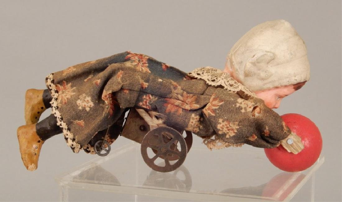 Antique crawling baby - 4