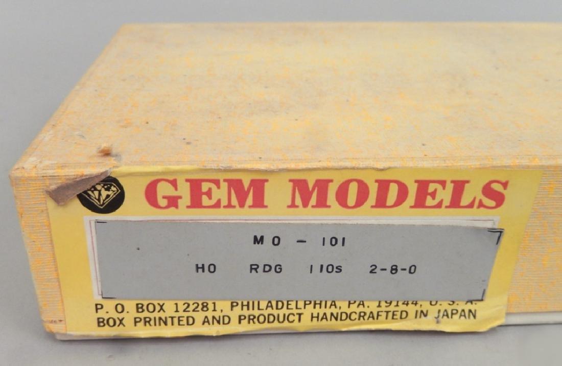 Samhongsa Models caboose and Gem Models MO 101 in boxes - 10