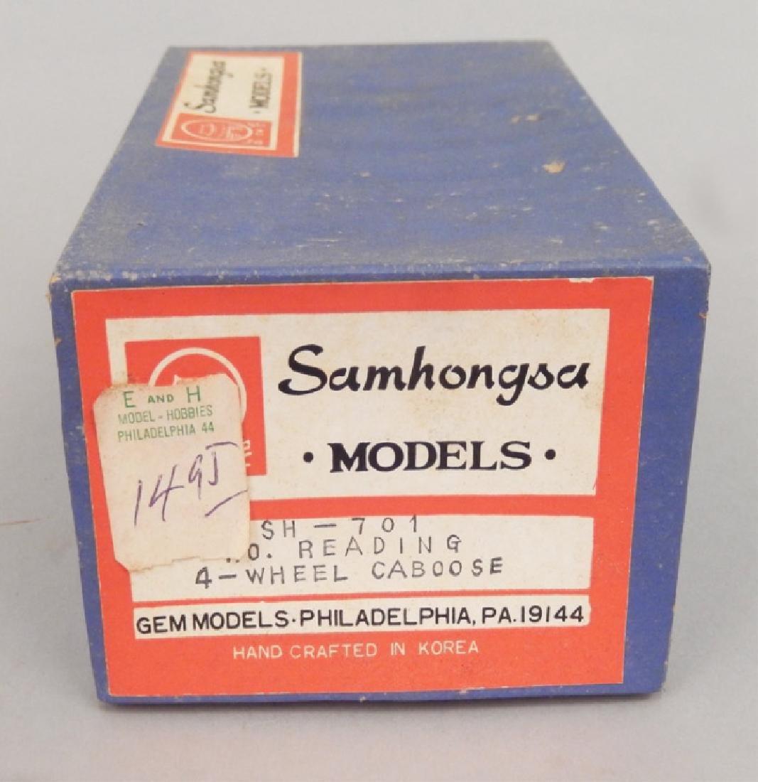 Samhongsa Models caboose and Gem Models MO 101 in boxes - 4