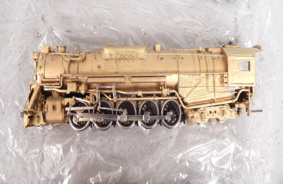 Westside Model Co. Pennsylvania J-1 2-10-4 brass engine - 3