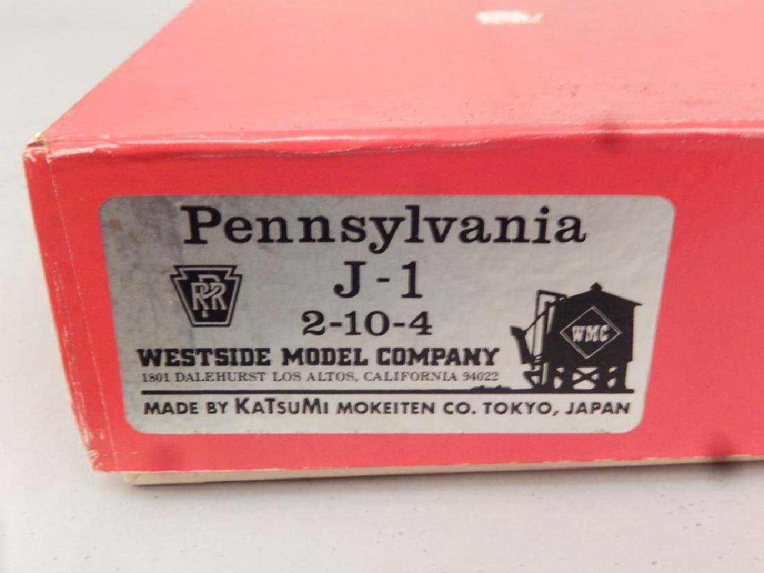 Westside Model Co. Pennsylvania J-1 2-10-4 brass engine - 9