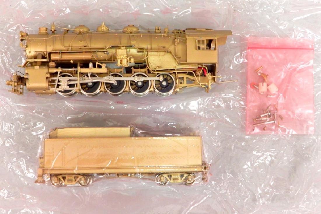 Westside Model Co. U-1 0-10-0 brass engine and tender - 3