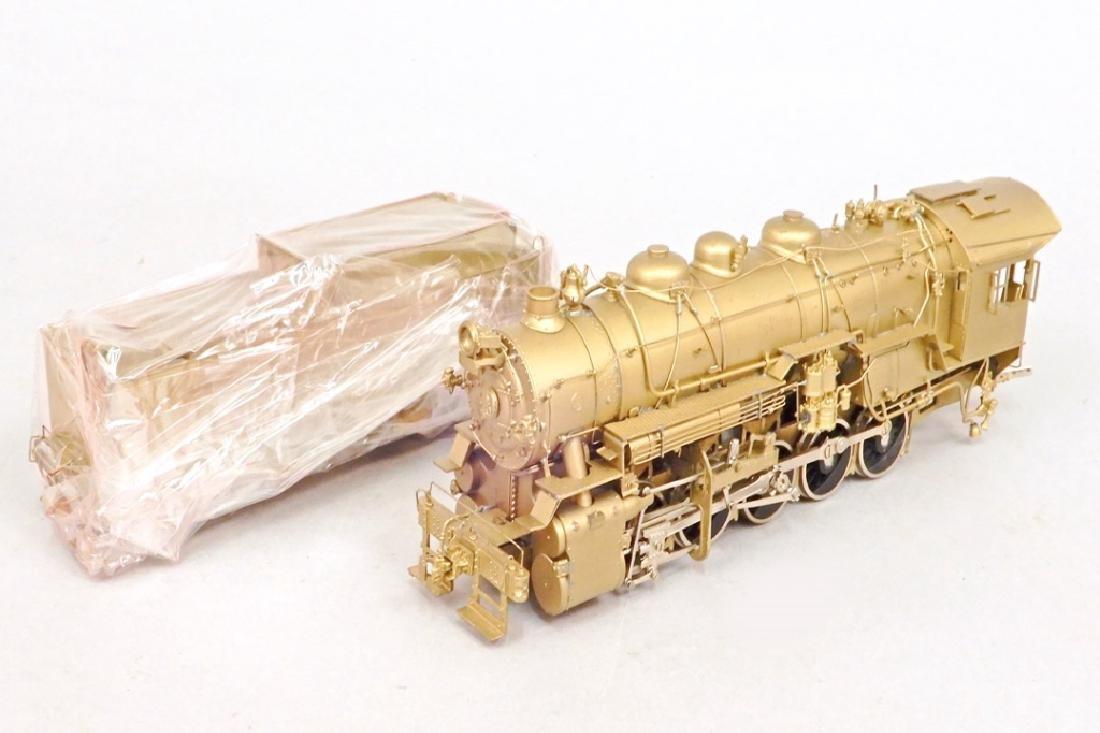 Westside Model Co. U-1 0-10-0 brass engine and tender - 5