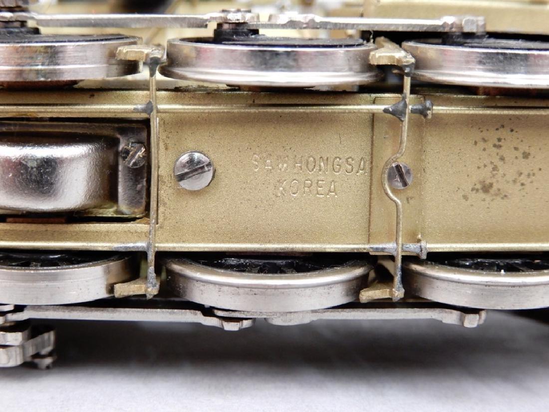 Westside Model Co. U-1 0-10-0 brass engine and tender - 7