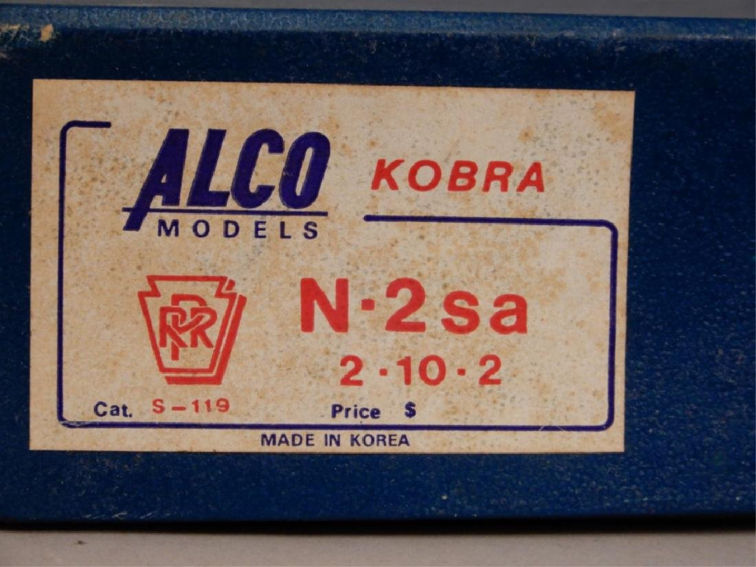 Alco Models Kobra N-2sa 2-10-2 S-119 in original box - 2