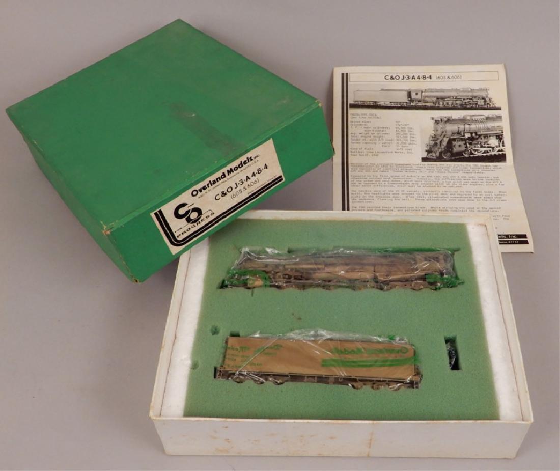 Overland Models C&O J-3-A, 4-8-4 in original box