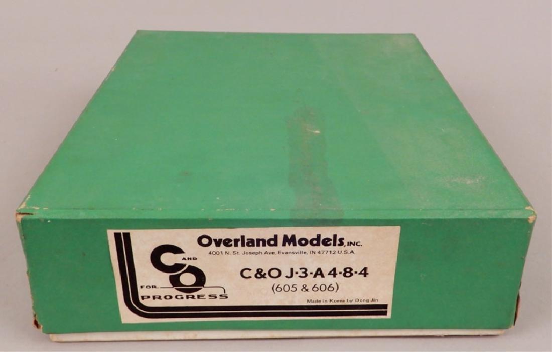 Overland Models C&O J-3-A, 4-8-4 in original box - 8