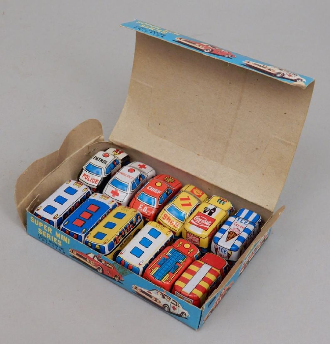 Super Mini Series Friction Cars in original box
