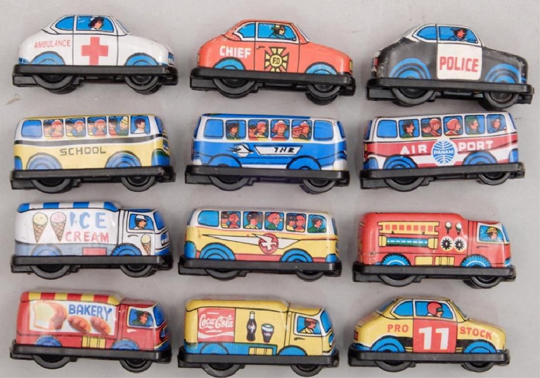 Super Mini Series Friction Cars in original box - 3