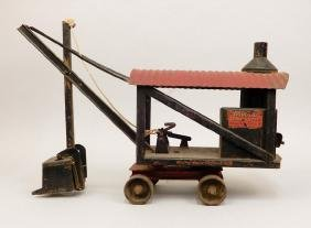 Buddy L Steam Shovel Pressed Steel