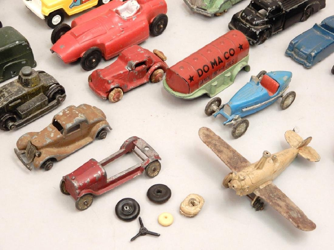 Grouping of Tootsietoy diecast vehicles - 2