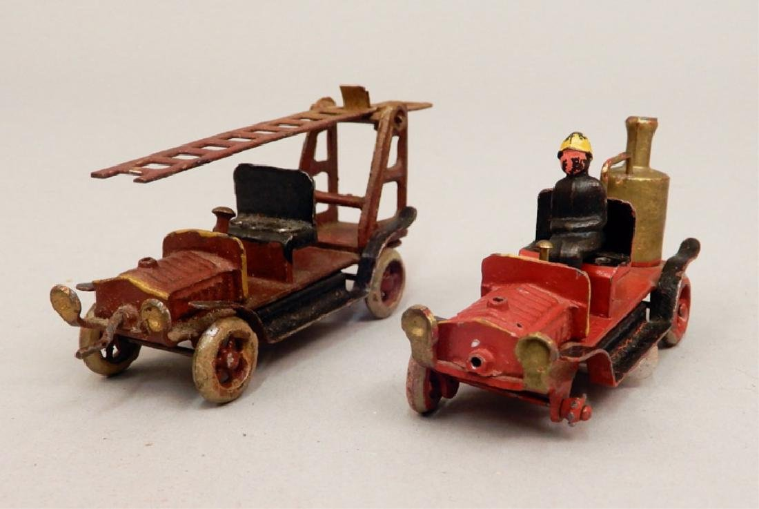 Two penny toy fire trucks - 2