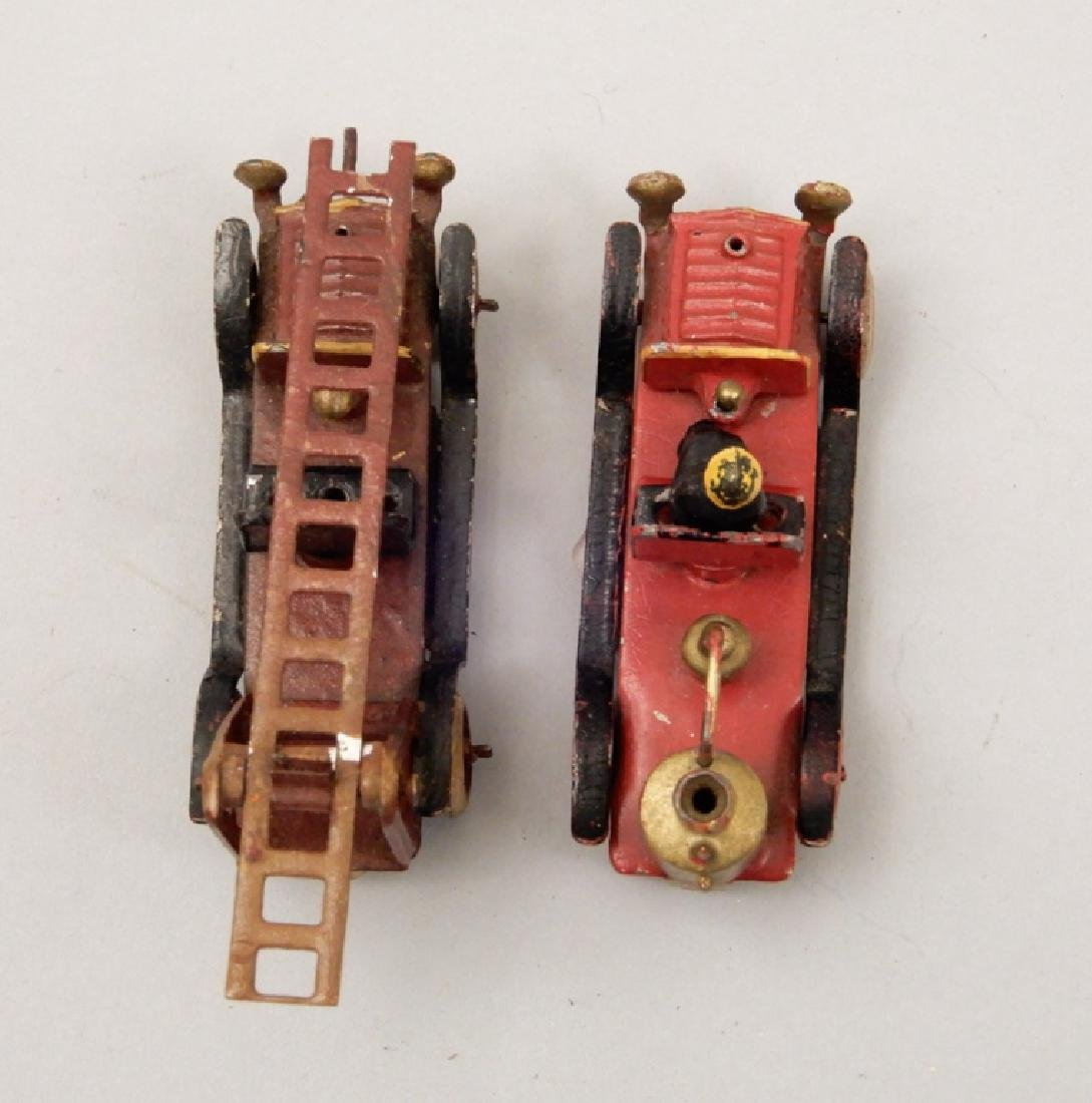 Two penny toy fire trucks - 6