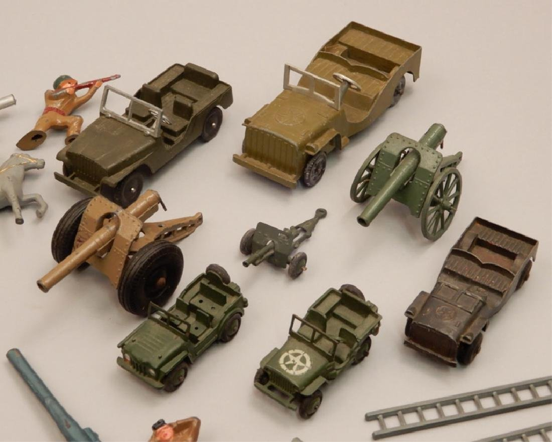 Grouping of diecast military soldiers and vehicles - 4
