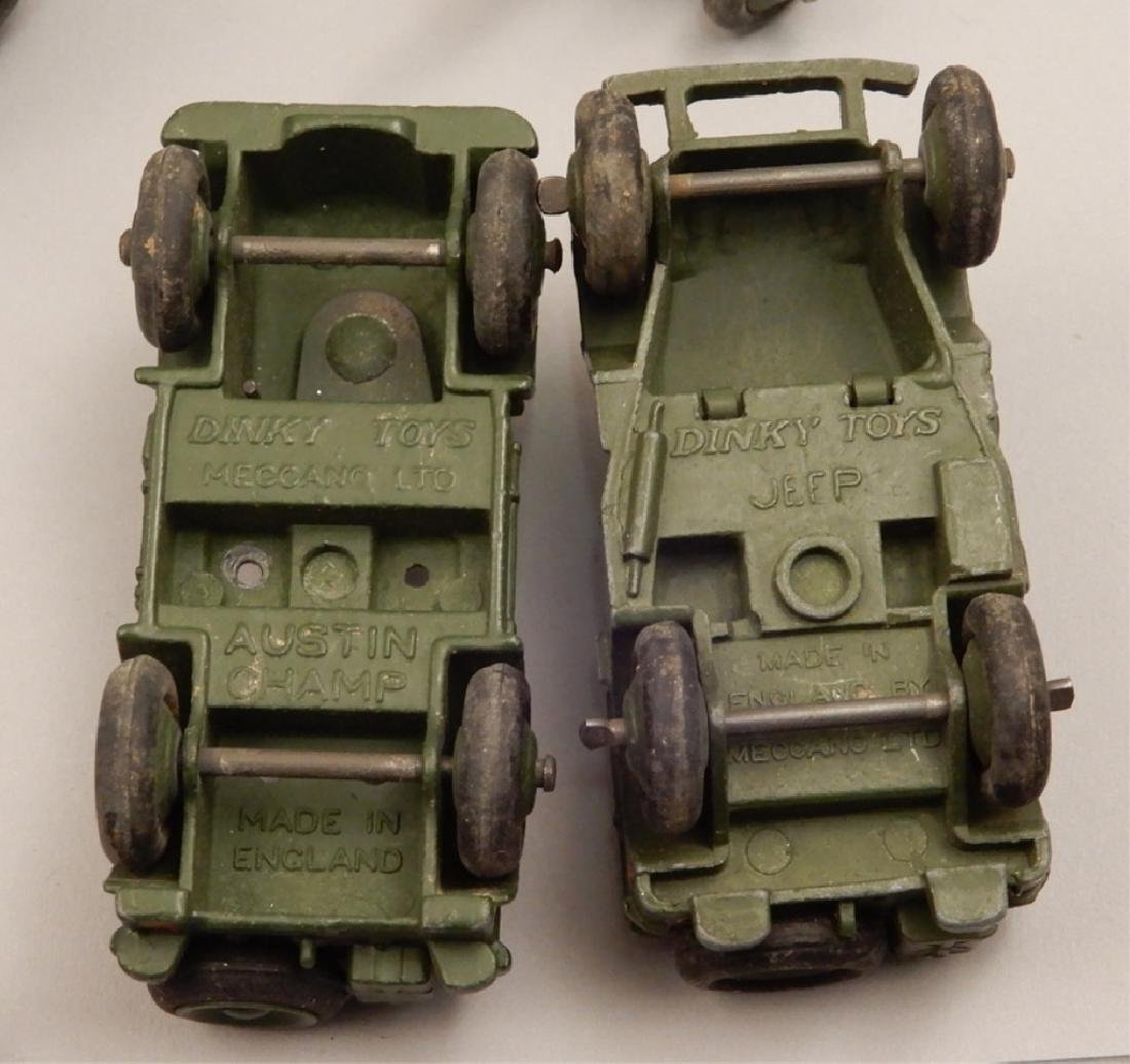 Grouping of diecast military soldiers and vehicles - 5