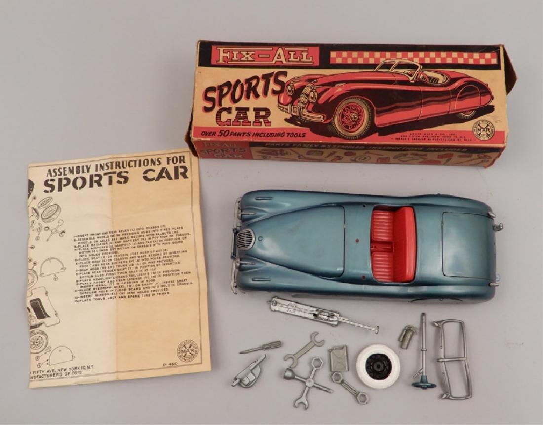 Marx Fix-All Sports Car in original box