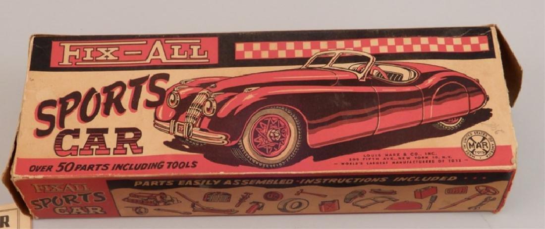 Marx Fix-All Sports Car in original box - 2