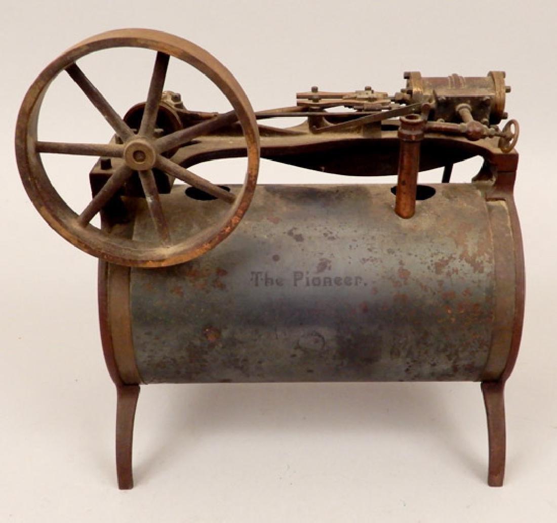 Edgar Side Pioneer Steam Engine