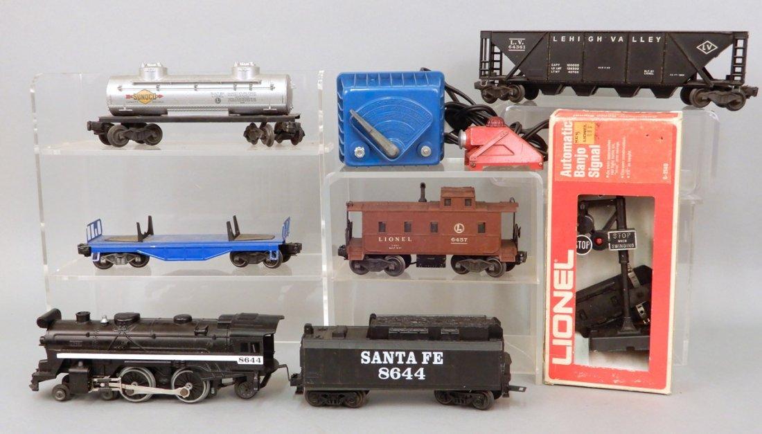 Lionel post war O gauge freight set