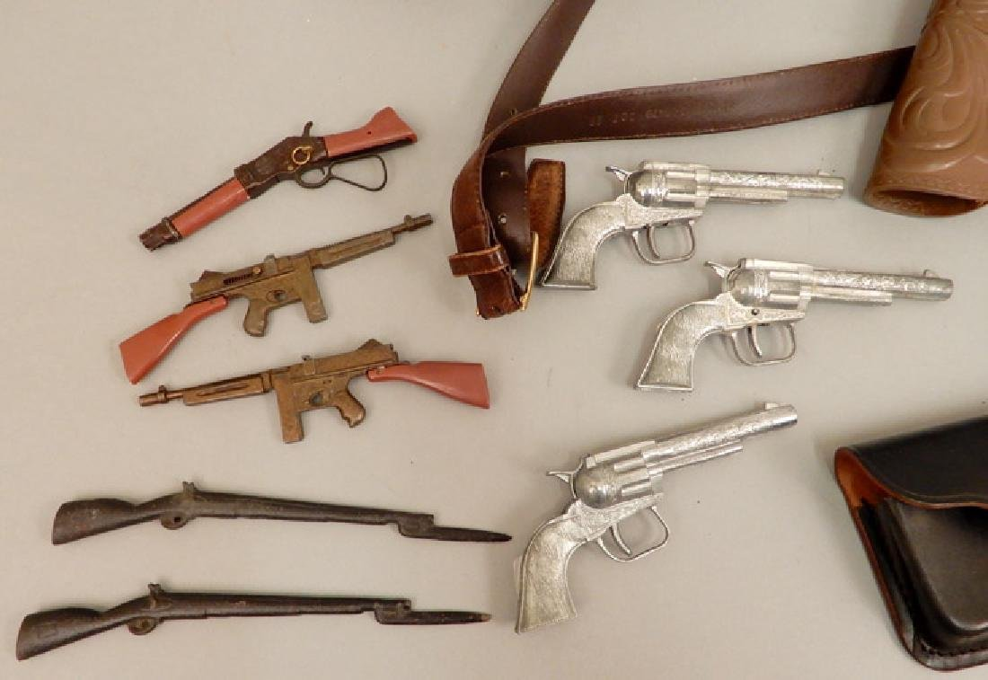 Grouping of toy cap guns - 5