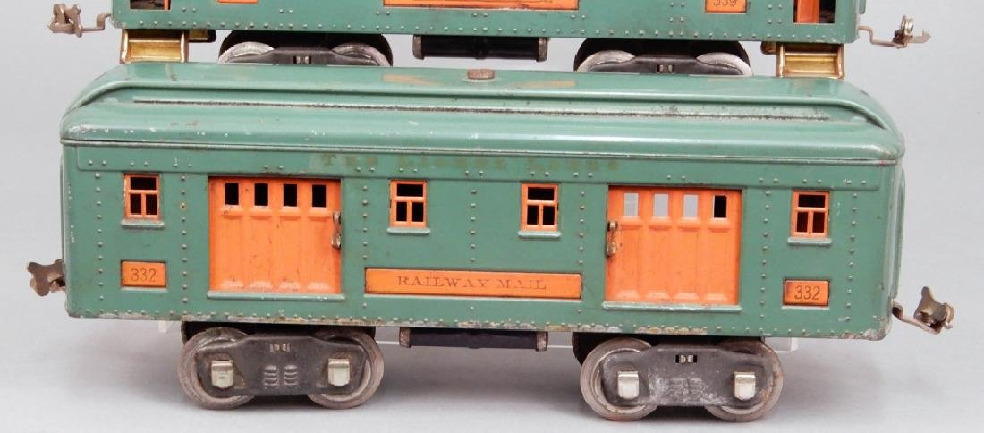 Three Lionel standard gauge passenger cars - 3