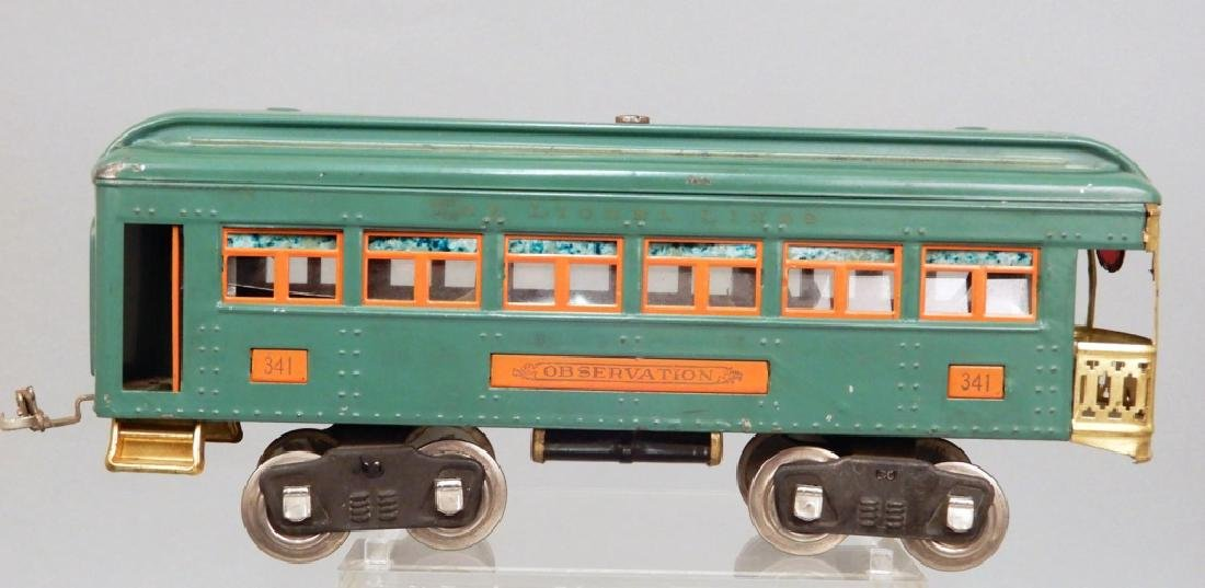 Three Lionel standard gauge passenger cars - 6