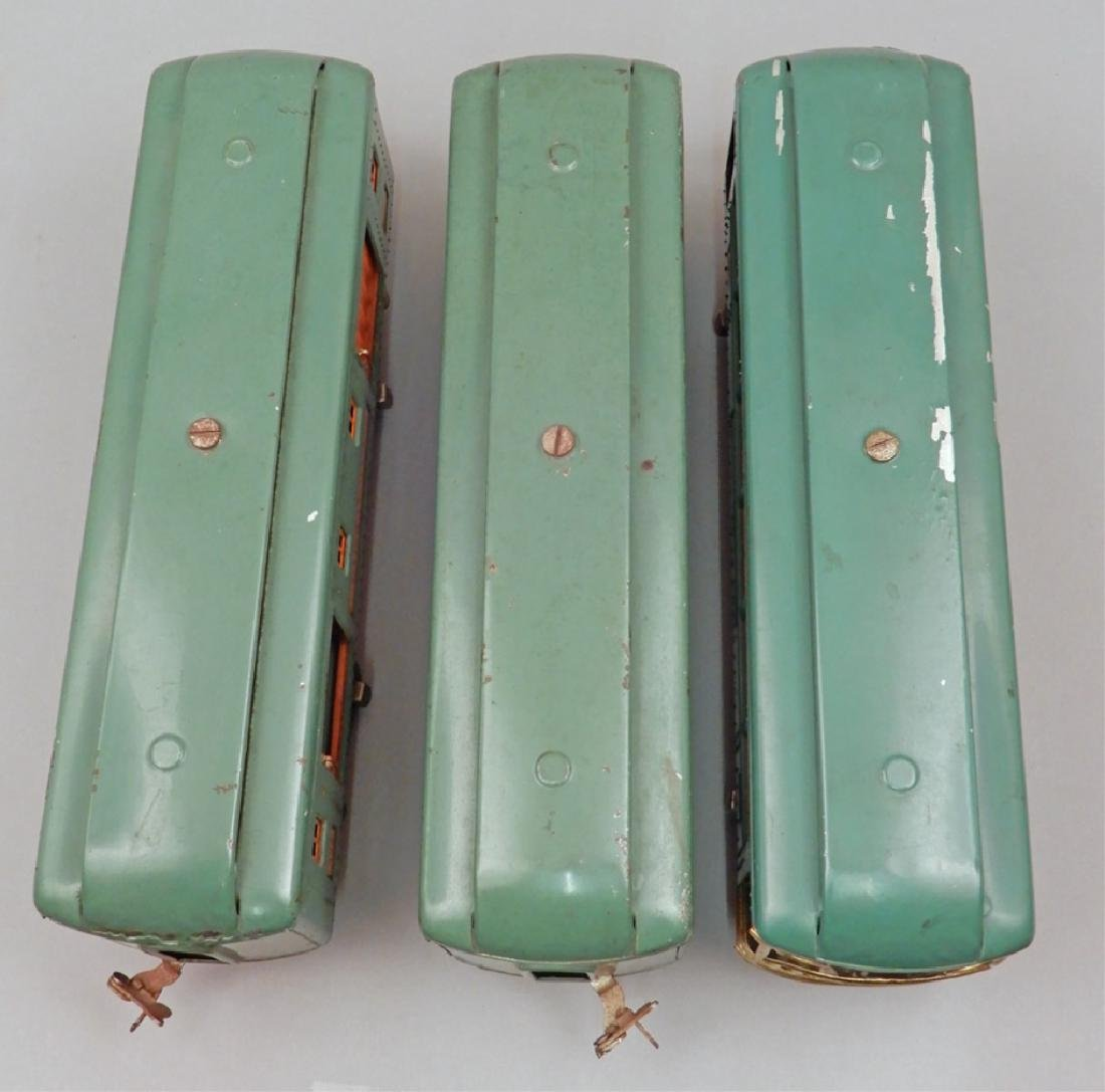 Three Lionel standard gauge passenger cars - 7