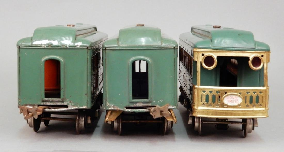 Three Lionel standard gauge passenger cars - 8