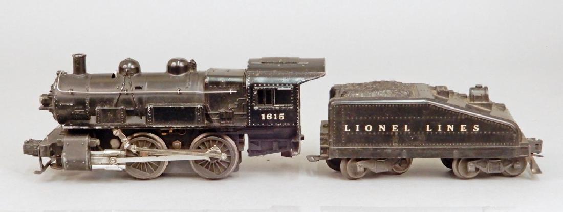 Lionel O27 gauge No. 1615 steam loco switcher and