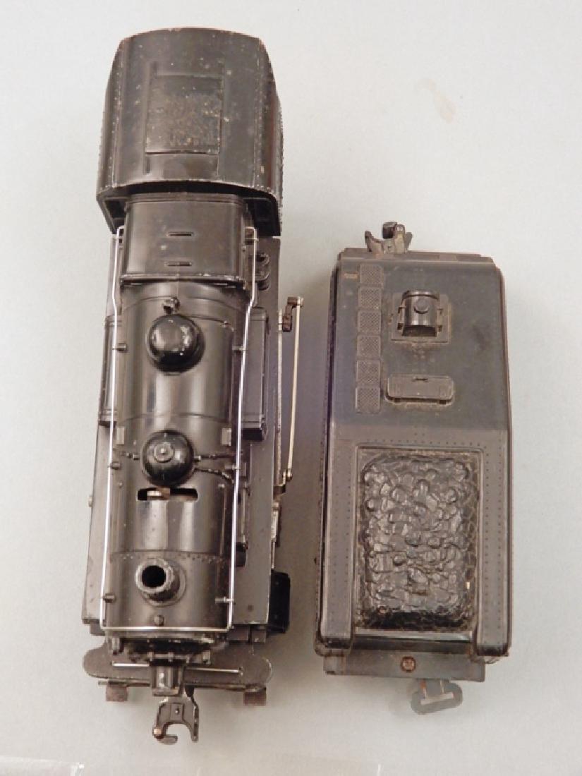 Lionel O27 gauge No. 1615 steam loco switcher and - 3