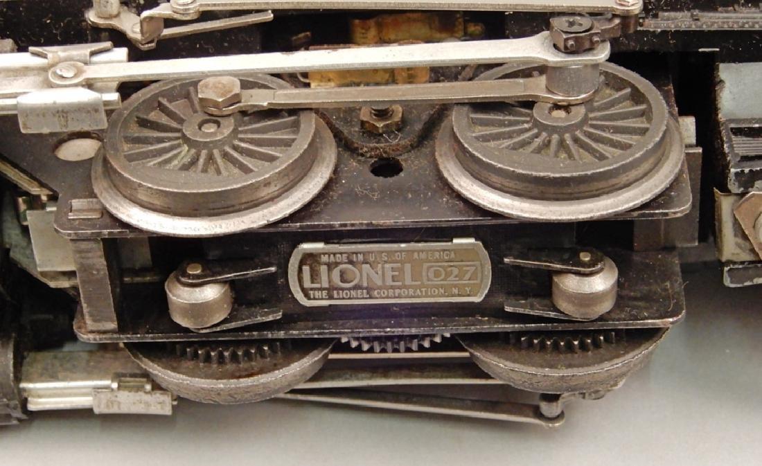 Lionel O27 gauge No. 1615 steam loco switcher and - 4