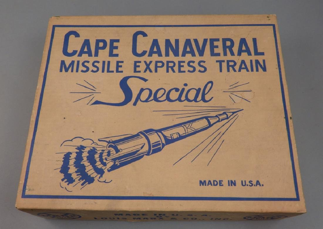 Marx Cape Canaveral Missile Express Train set No. 7350
