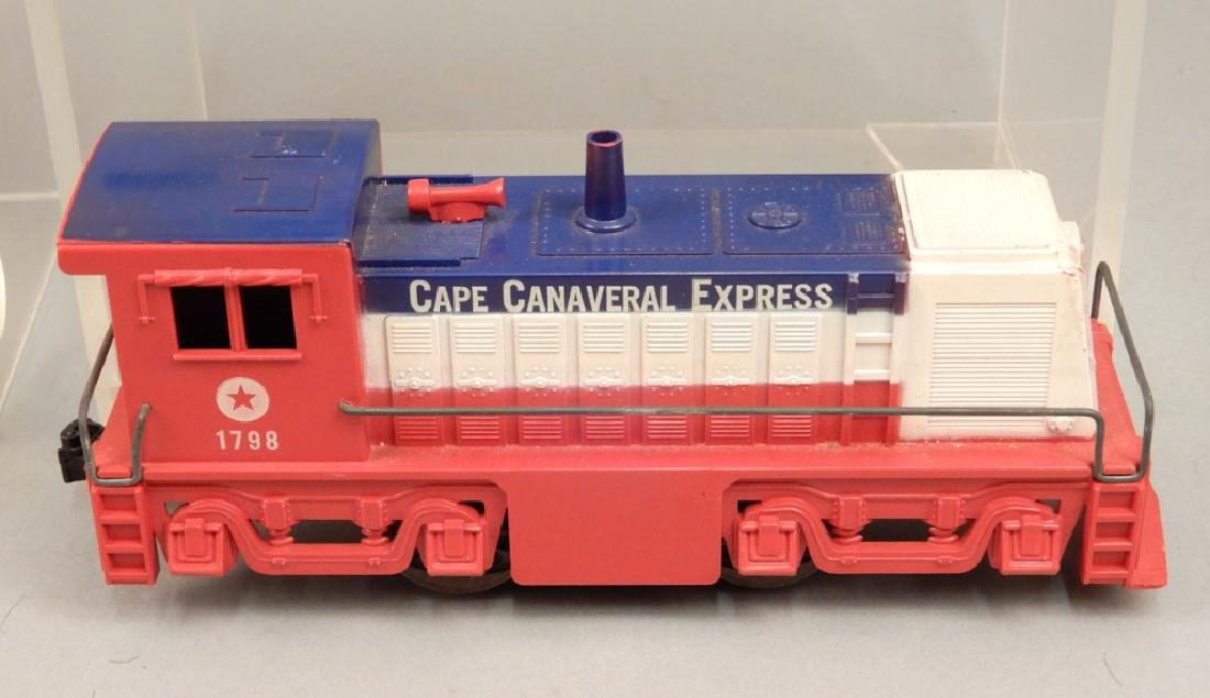 Marx Cape Canaveral Missile Express Train set No. 7350 - 4