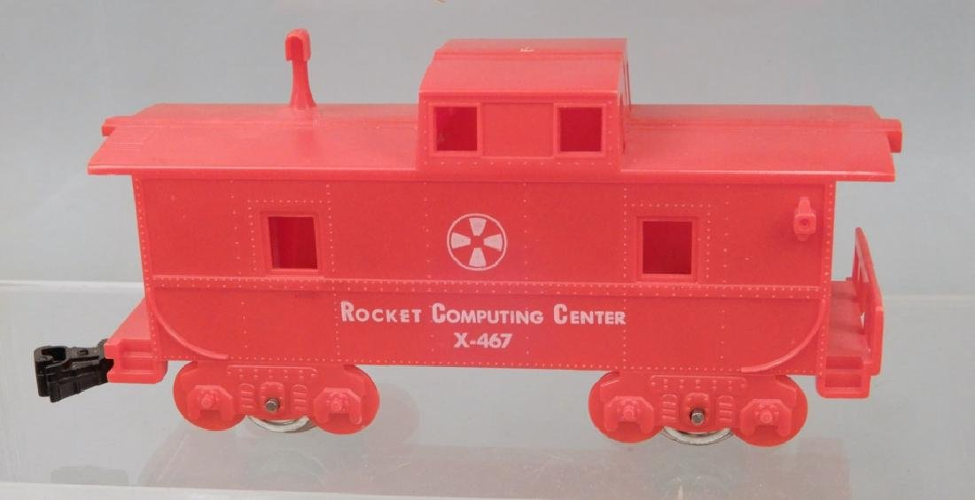 Marx Cape Canaveral Missile Express Train set No. 7350 - 9