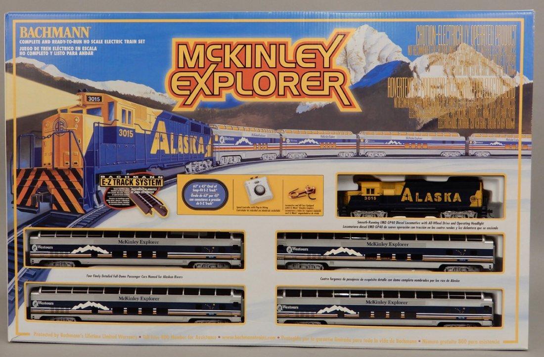 Bachmann McKinley Explorer train set in box