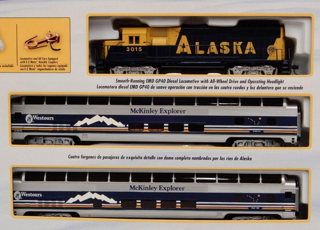 Bachmann McKinley Explorer train set in box - 2