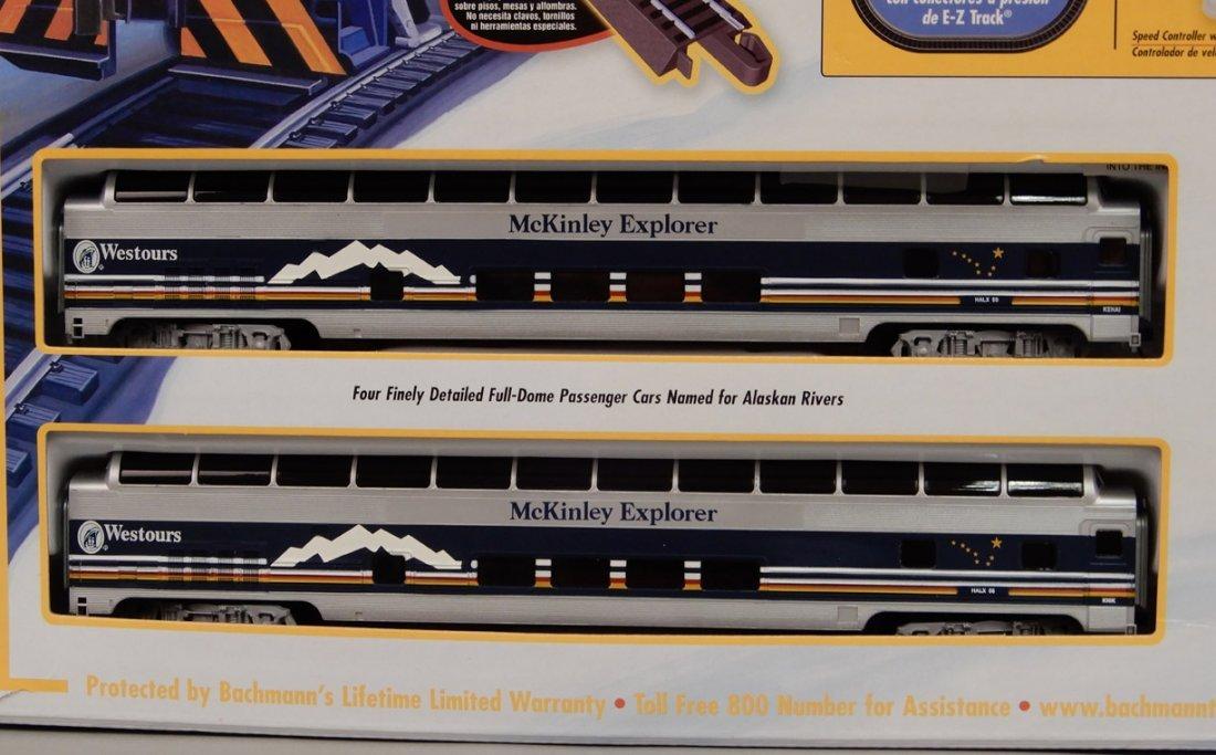 Bachmann McKinley Explorer train set in box - 3