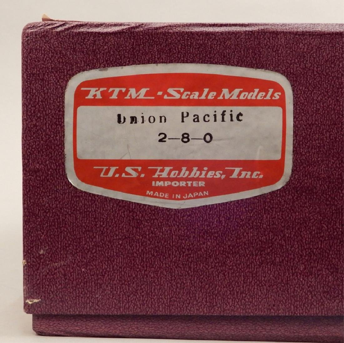 KTM Scale Models Union Pacific 2-8-0 in original box - 2