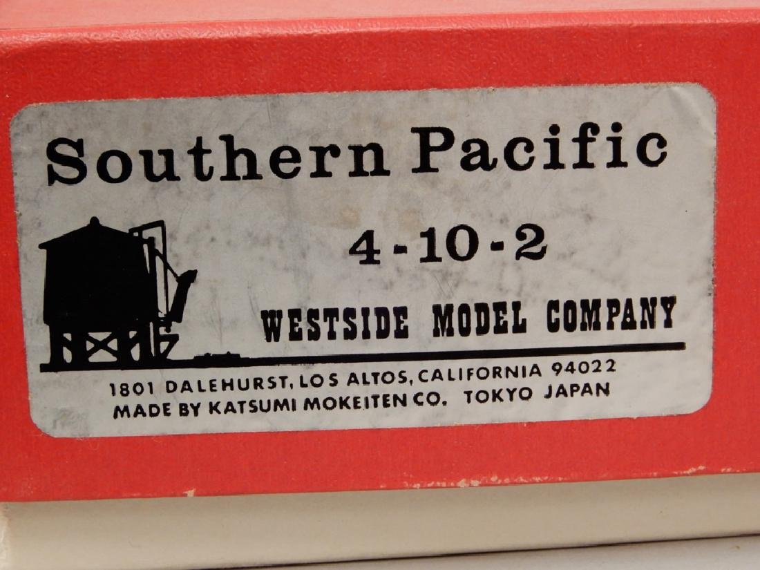 Westside Model Co. Southern Pacific 4-10-2 in original - 10
