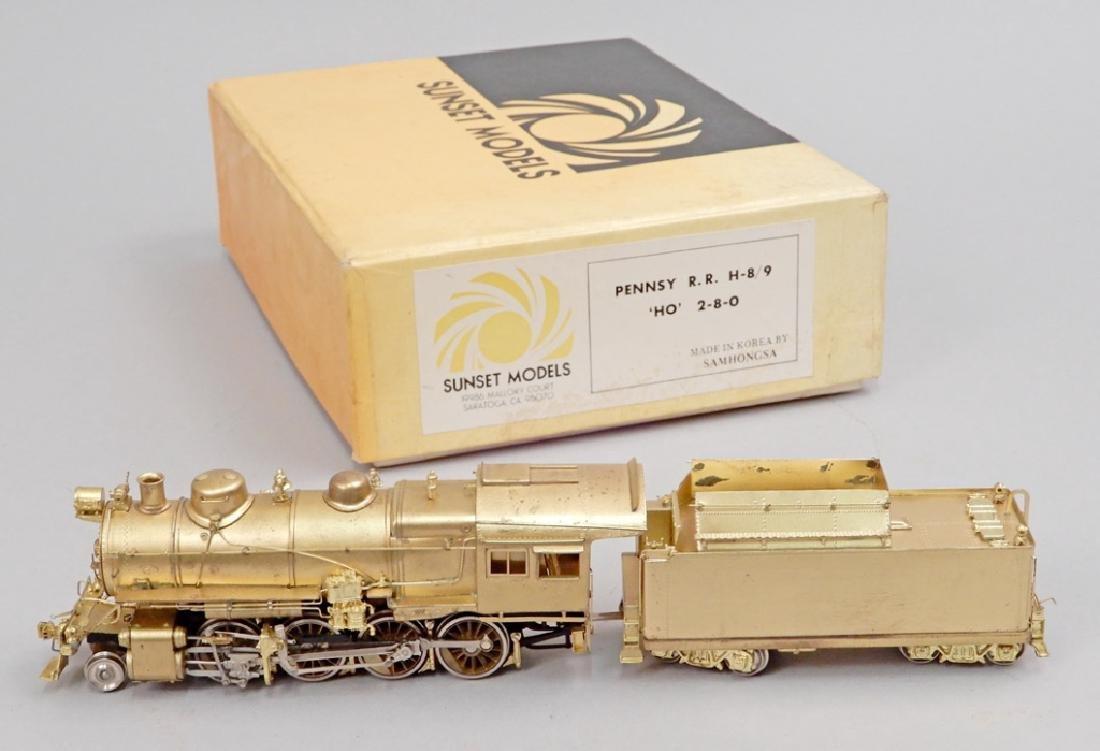 Sunset Models Pennsy RR H-8/9 'HO' 2-8-0 in box