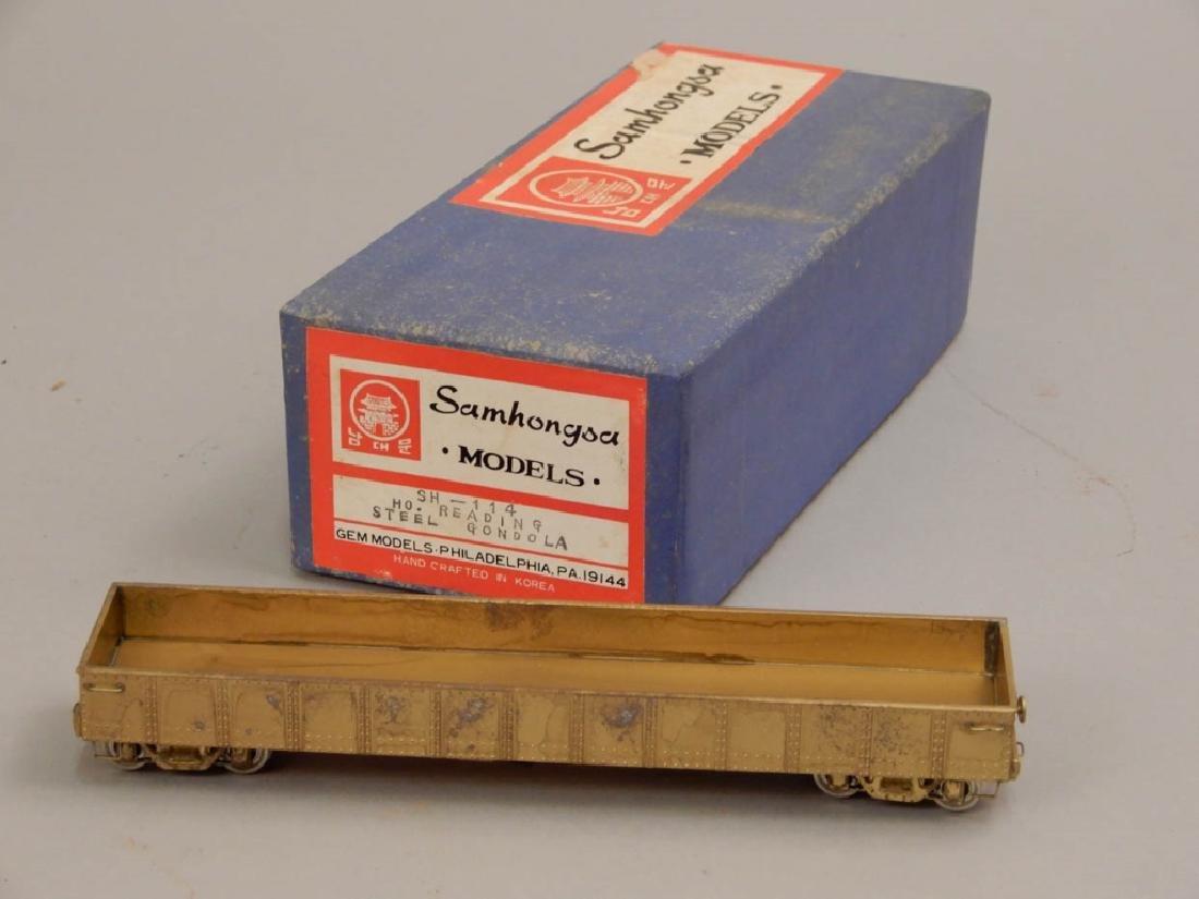 Samhongsa Models SH-114 HO Reading Steel Gondola in box