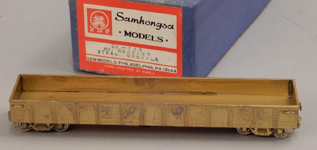 Samhongsa Models SH-114 HO Reading Steel Gondola in box - 3