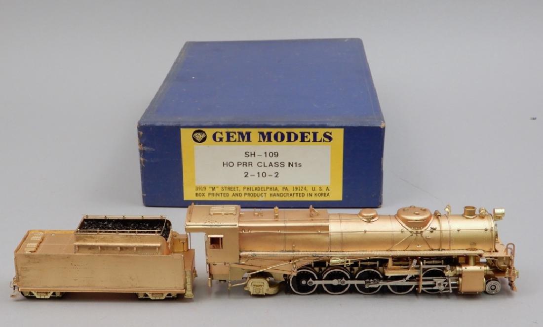 Gem Models SH-109 HO PRR Class N1s, 2-10-2 in box