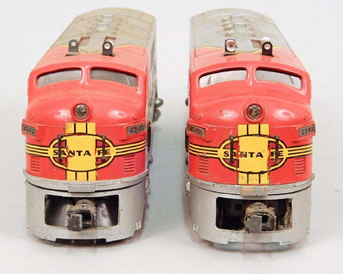 Two Lionel Santa Fe AA Diesel units - 2