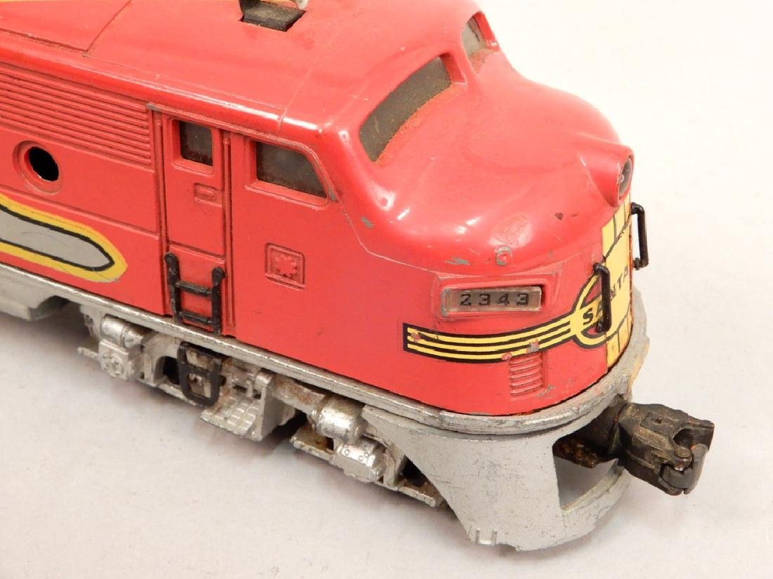 Two Lionel Santa Fe AA Diesel units - 7