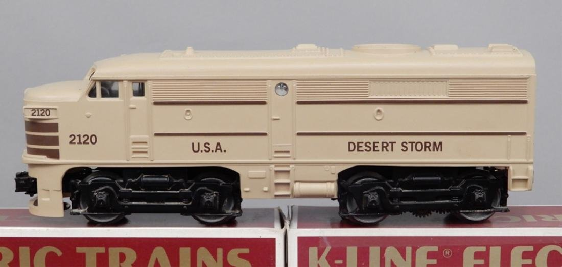 K-Line Engine and Train Cars - 2