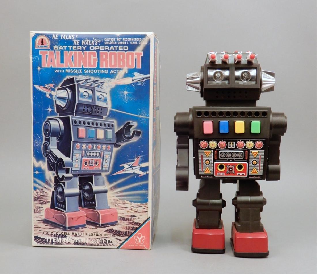 Yonezawa Battery Operated Talking Robot in box