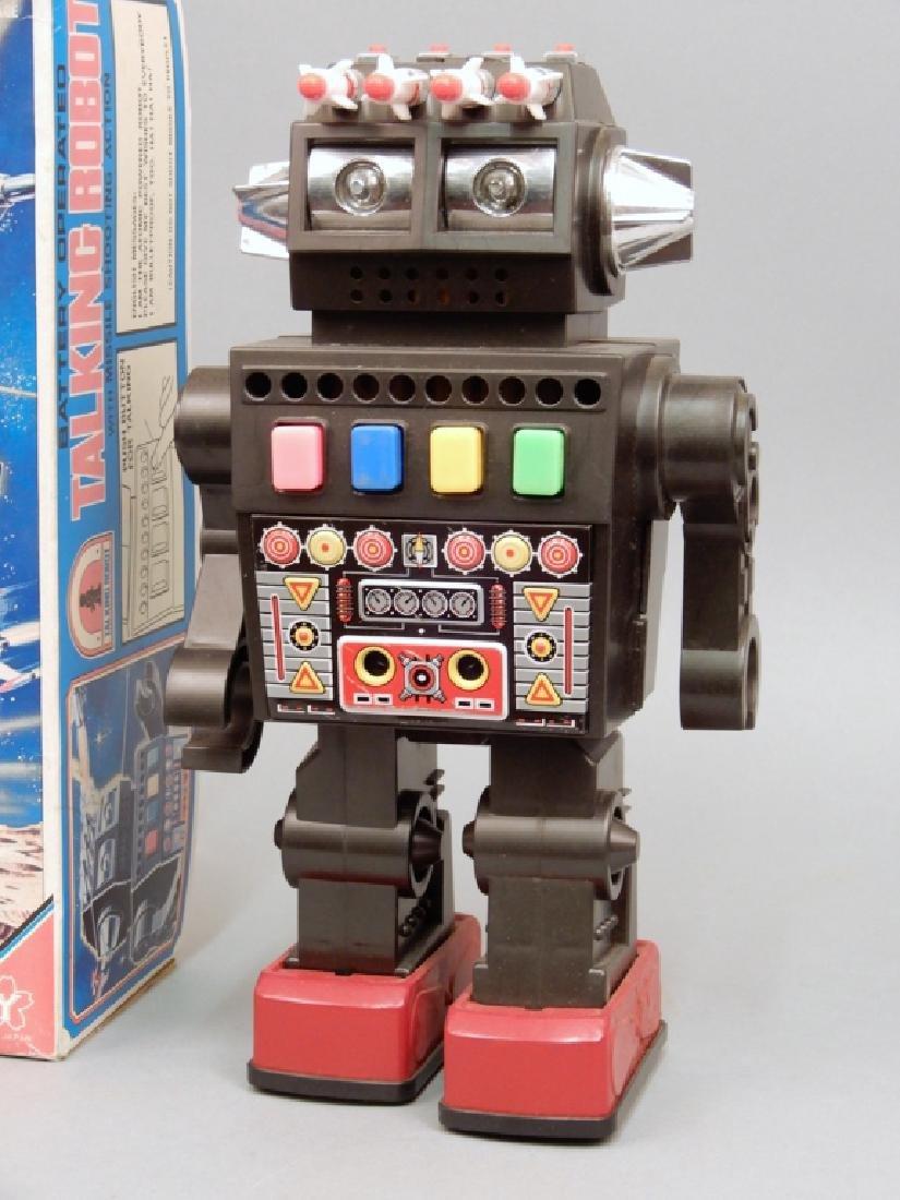 Yonezawa Battery Operated Talking Robot in box - 2