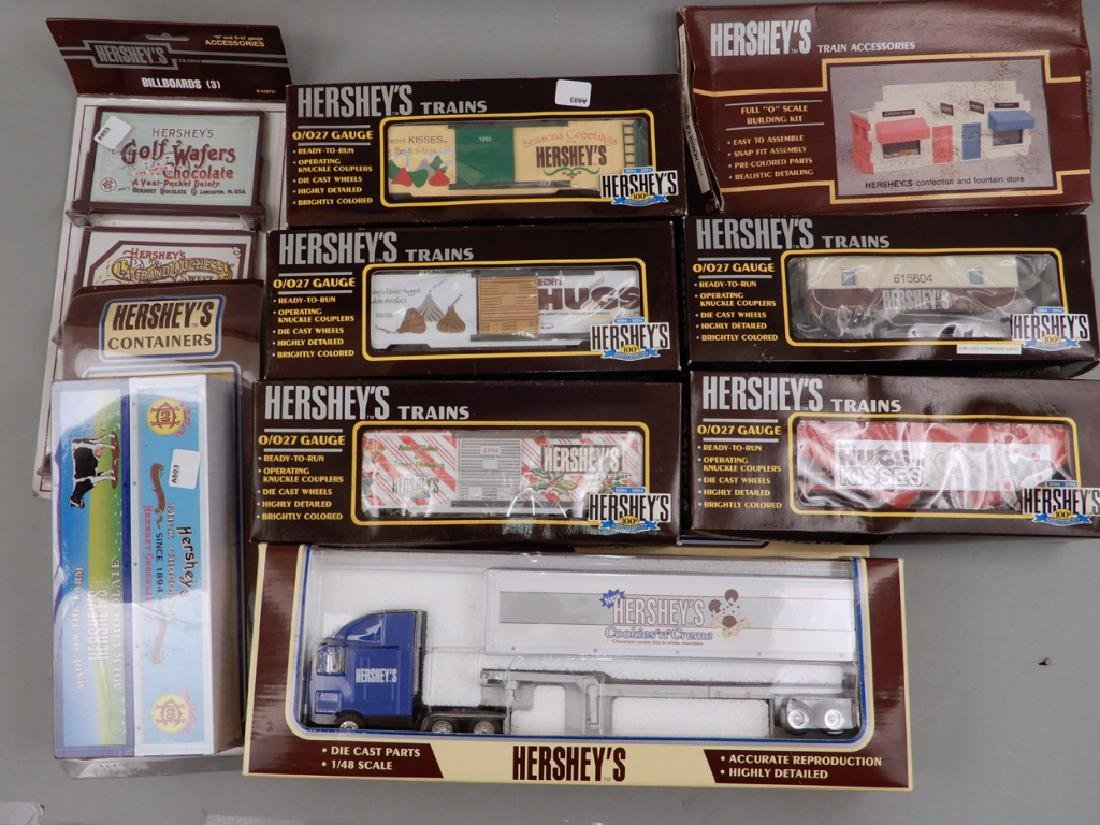 Hershey Trains, Train Accessories and Hershey's Heavy